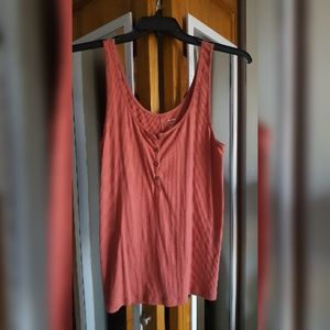 Ribbed button tank